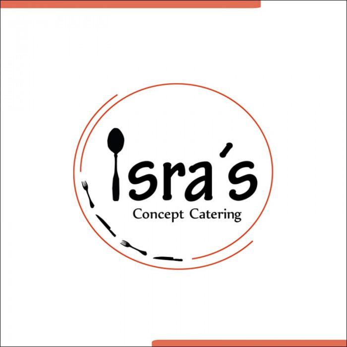 Entwicklung eines Logos für die Catering Firma Isra´s Concept Catering